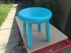 Kids Stool Bench Handmade Stain or Paint by CandlewoodFurniture