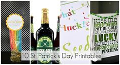 10 ideas from Tatertots & Jello for a LUCKY St. Patrick's Day!