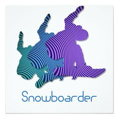 Snowboard Logo design invitation....see more snowboard invites and other gifts in the Boutique