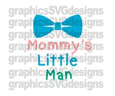 Daddy's Little Man SVG File For Cricut and Cameo by SukiesDesigns Boy Silhouette, Silhouette Cameo, Daddys Little, Little Man, Baby Svg, Silhouette Studio Designer Edition, Machine Design, Svg Files For Cricut, Vinyl Projects