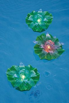 These Floating Lotus Lights bring timeless beauty and illumination to your pool or spa.