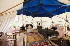 Geodesic Dome - Tepee Valley Campsite