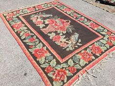 Rustic Rugs, Interior Accessories, Vintage Rugs, Bohemian Rug, Purple, Unique Jewelry, Awesome, Handmade Gifts, Etsy