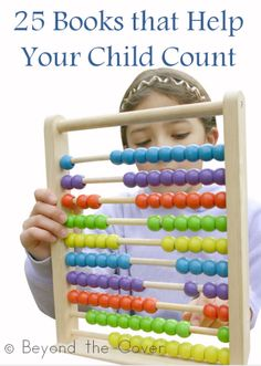 25 books that help your child count | www.beyondthecoverblog.com
