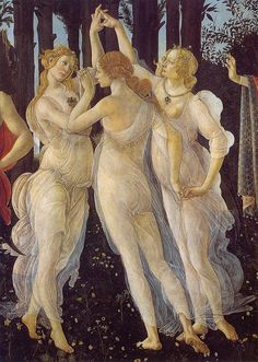 Boticelli: The Three Graces (detail from Spring)
