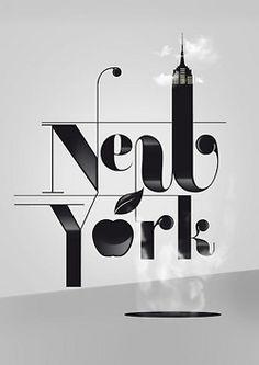 New york graphics + typography дизайн плаката, манхэттен и шрифты. Design Fonte, Graphisches Design, Creative Design, Logo Design, Patten Design, Interior Design, Typography Letters, Graphic Design Typography, Hand Lettering