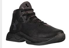 Black STEPH CURRY SHOES!