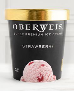 Ripe, juicy strawberries are pureed then woven throughout our classic strawberry ice cream, transporting you to a summer day, no matter the weather. Available in pints and quarts. #oberweisicecream #simplythebest Strawberry Ice Cream, Raspberry, Best Ice Cream Flavors, Black Raspberries, Strawberries, Pints, Chocolate, Fruit, Tableware