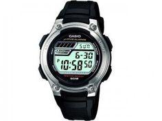 Relógio Masculino Casio Mundial W-212H-1AVDF - Digital com Cronógrafo e Calendário