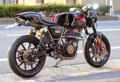 Yamaha SR Cafe Racer - Presto Custom Collection - RocketGarage