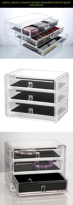 Acrylic Jewelry & Cosmetic Storage Organizer SF-1005-1 BY Beauty and Lifestyle #parts #fpv #gadgets #drone #plans #and #kit #camera #shopping #technology #racing #storage #products #organization #tech