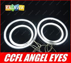 ==> [Free Shipping] Buy Best a set CCFL Angel Eyes case for Hon.da CRV (2005-2006) Halo Ring Halo Light cathode tube 3 colors option GGG Online with LOWEST Price | 1572324062