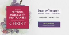 Calling Women to Freedom, Fullness & Fruitfulness in Christ — #Ministry #Women website www.reviveourhearts.com