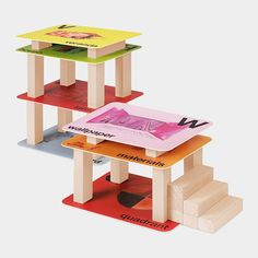 A to Z Flashcards Building Set. Each card relates to an architectural concept!