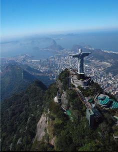 Cristo Redentor - Rio de Janeiro, Brazil.