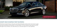 Explore the brilliant exterior of the 2016 Cadillac CTS Sedan. Cadillac of Santa Fe: www.cadillacofsantafe.com.