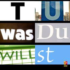 Tu, was du willst.   #sunday #sonntag #slogan #words #urbanpoetry #berlin #wien #zürich