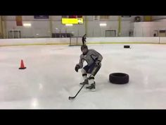 Hockey Powerskating Drills from Canada (part 4) - YouTube