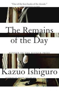 The Remains of the Day is a profoundly compelling portrait of the perfect English butler and of his fading, insular world postwar England. At the end of his three decades of service at Darlington Hall