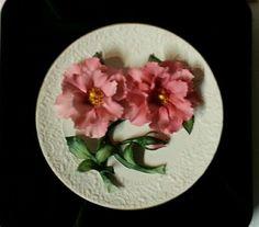 Franklin Mint Plate - Pink Roses of Capodimante - Certificate of Authenticity Retro Art, Retro Vintage, Franklin Mint, Teapots, Pink Roses, Authenticity, Certificate, Decorative Plates, Cups