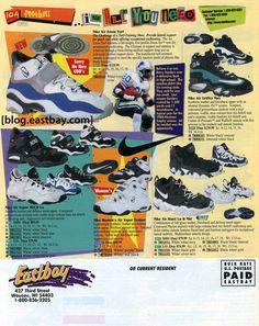 280e33afc70 29 Best Eastbay Memory Lane images | Tennis, Shoe cabinet, Shoe Closet