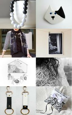 Black and white  by Georgia on Etsy--Pinned with TreasuryPin.com