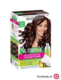 Shop for Nutrisse Nourishing Color Foam Permanent Haircolor Iced Mahogany Dark Brown by Garnier at ShopStyle. Dark Mahogany Brown, Mahogany Hair, Dark Brown, Fall Hair Colors, Brown Hair Colors, Chocolate Brown Hair Dye, Semi Permanent Hair Color, Flaky Skin, Hair Oil