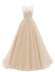 Dresstells Women's Long Tulle Ball Gowns Wedding Dress Evening Formal Party Maxi Dress Champagne Size 18 Dresstells http://www.amazon.co.uk/dp/B018FTNAQS/ref=cm_sw_r_pi_dp_.8fNwb1M7TKVA