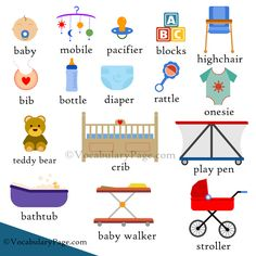 Baby vocabulary