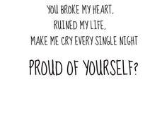 Broken Heart Quotes for Girls | boy, breakup, broken heart, cry, girl - inspiring picture on Favim.com
