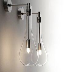 Applique en verre de murano Bath Shop