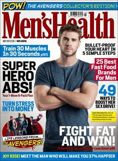 Men's Health UK May 2012: Liam Hemsworth