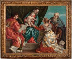 Sacra Conversazione Paolo Veronese, circa 1560-1570