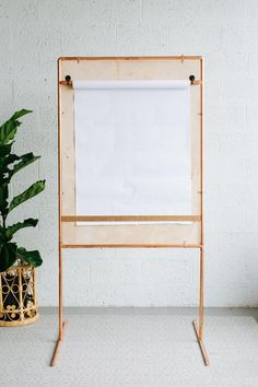 DIY Outdoor Drawing Board >> http://www.hgtv.com/design-blog/how-to/make-an-outdoor-drawing-board-with-copper-pipe?soc=pinterest
