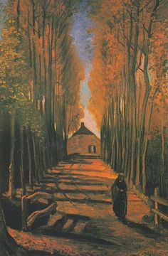 Vincent van Gogh - Populieren in de herfst