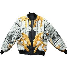 c2480732b04b View this item and discover similar jackets for sale at - Beautiful Hermes  Silk reversible men's jacket.