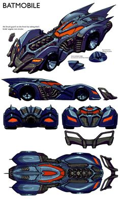 Batmobile//Carlos D'Anda/D - E/ Comic Art Community GALLERY OF COMIC ART