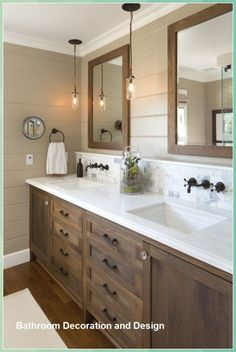 Bathroom Decor Ideas Master - Pine Cone Crafts for Kids #Bathroom #Decor #Ideas #Master #Pine #Cone #Crafts #for #Kids Trendy Bathroom, Bathroom Farmhouse Style, Bathroom Styling, Farmhouse Bathroom Vanity, Modern Bathroom, Bathroom Inspiration Decor, Amazing Bathrooms, Rustic Master Bathroom, Farmhouse Bathroom Decor
