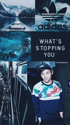 Louis lockscreen made by stylinsonphones one Twitter