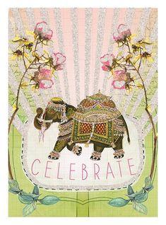 Papaya Art, Happy Birthday Greetings, Brighten Your Day, Pink And Gold, Birthday Cards, Birthday Stuff, Birthday Wishes, Screen Printing, Original Artwork