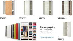 Ikea com promoção em Roupeiros Pax