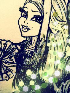 Monster High™ Zeichnungen der letzten Monate | Flickr - Photo Sharing!