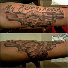 19 My Brothers Keeper Tattoo With Powerful Meanings Aww Shit