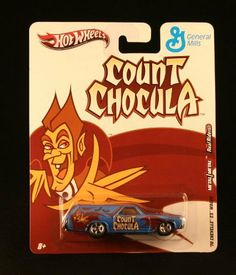 '70 CHEVELLE SS WAGON * COUNT CHOCULA * Hot Wheels General Mills Cereal 2011…
