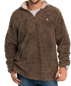 Southern Shirt Co - Sherpa Pullover w/ Pockets Mens Fashion Sweaters, Men Sweater, Southern Shirt Co, Pullover, Pockets, Popular, Free Shipping, Shirts, Products