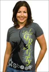 Wicked the Broadway Musical - Defy Gravity Ladies T-Shirt review at Kaboodle