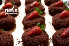 Porsiyonluk Köstebek Pastası (Mutlaka Deneyin) Tarifi Diy And Crafts, Food And Drink, Desserts, Recipes, Cakes, Deserts, Food Recipes, Rezepte, Dessert