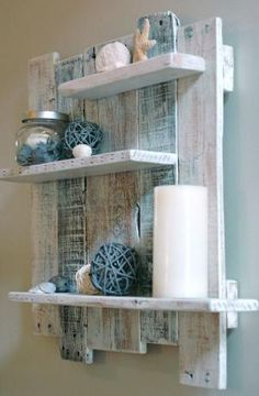 Our beach inspired wall shelf is named after White Lake in Northern Michigan. Whether you are decorating a beach inspired seaside retreat or in by bleu.
