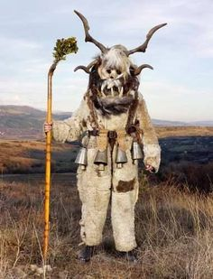 In Finland, Nuutinpäivä is when young men dressed as a goat (called Nuuttipukki) visit houses. Usually the dress is an inverted fur jacket, a leather or birch bark mask, and horns. Nuuttipukki was a character like the Germanic Krampus. Men dressed as Nuuttipukki wandered from house to house, came in, and typically demanded food from the household, especially leftover alcoholic beverages. In Finland, tradition is still alive in areas of Satakunta, Southwest Finland and Ostrobothnia.