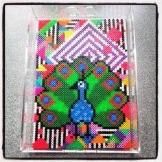 Hama peacock - bloglovin/nørkletøserne